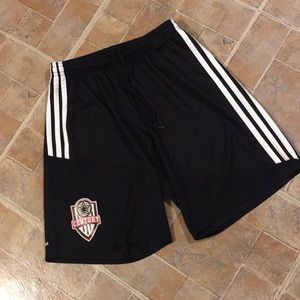 Adidas athletic shorts size women's small